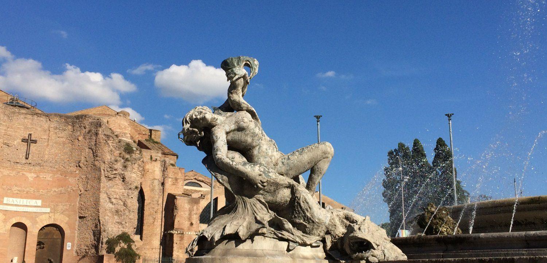 Sandrina over Rome